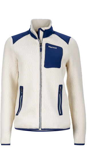 Marmot W's Wiley Jacket Cream/Arctic Navy